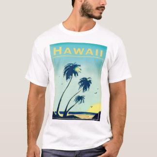 男性へハワイのTシャツ Tシャツ