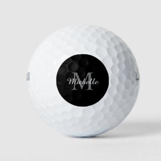 男性へ名前をカスタムするのモノグラムのゴルフ・ボールおよび女性 ゴルフボール