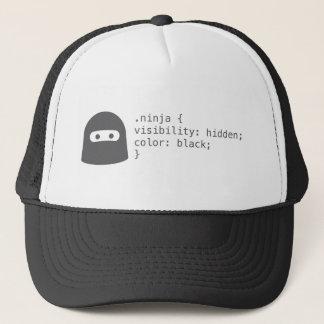 男性へ忍者コンピュータProgramerのトラック運転手の帽子 キャップ