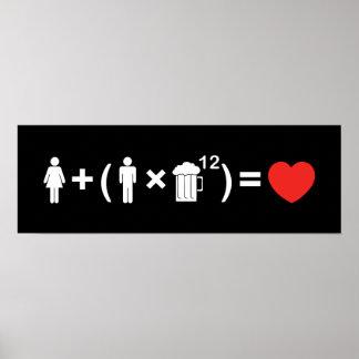 男性へ愛同等化 ポスター