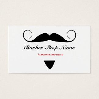 男性へ粋な髭の理髪店の美容師 名刺