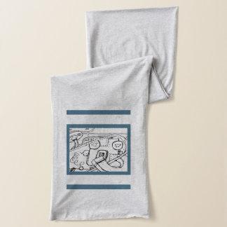 男性へDAL'Sの(Uの❤️をlove私をlove)スカーフ スカーフ