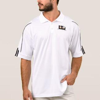 男性アディダスClimaLite®のポロシャツはまたは合わせます、 ポロシャツ