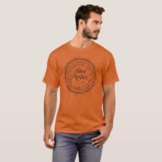 男性ジェーンAustenの時代劇のTシャツ Tシャツ