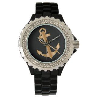 男性用上品で航海のな腕時計 腕時計