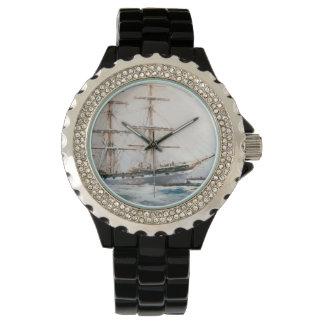 男性用航海のなテーマの腕時計 ウォッチ