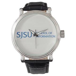 男性用革腕時計 腕時計
