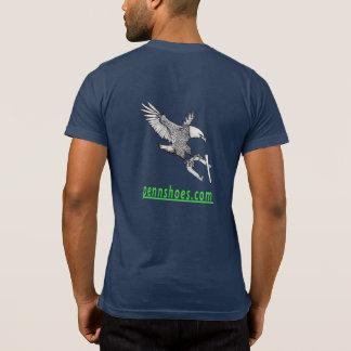 男性Bella+キャンバスの蹄鉄小型T Tシャツ