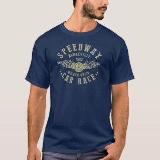 男性BONNEVILLEの高速自動車道路のTシャツ Tシャツ