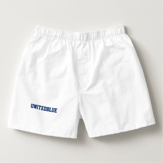 """男性Boxercraft """"UNITEDBLUE""""の綿のボクサー ボクサー"""