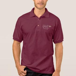 男性Gildanジャージーのポロシャツ ポロシャツ