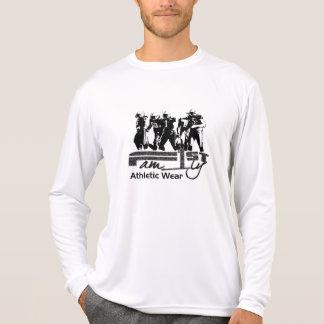 男性Microfiberのワイシャツ Tシャツ
