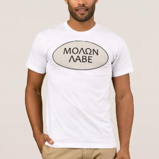 男性Molon Labe Tシャツ