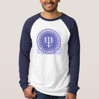 男性Poseidonの長袖 Tシャツ