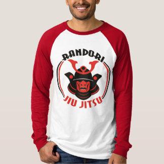 男性Randori Jiu Jitsuの長袖のRaglanのTシャツ Tシャツ
