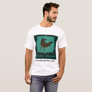 男性Spoonieの戦士の基本的なティー Tシャツ