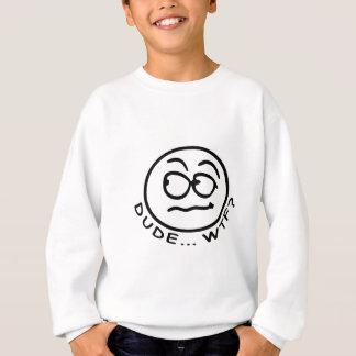 男WTFか。 スウェットシャツ