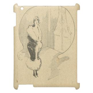 町で出かけるヴィンテージの美女の新紀元 iPadカバー