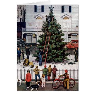 町の広場の木 カード
