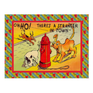 町のTherの他人 ポストカード
