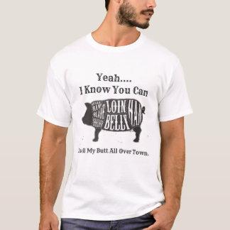 町中私のお尻をかいで下さい Tシャツ