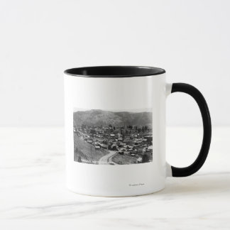 町14の空中写真 マグカップ