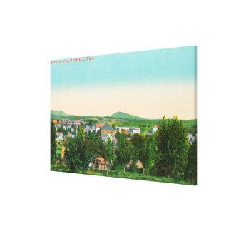 町18の空中写真 キャンバスプリント