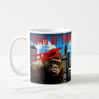町-ゴリラの王 コーヒーマグカップ