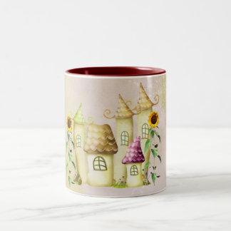 町 ツートーンマグカップ