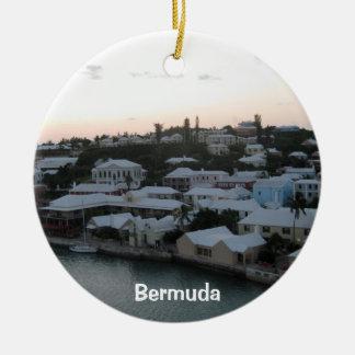 町、バミューダ島 セラミックオーナメント