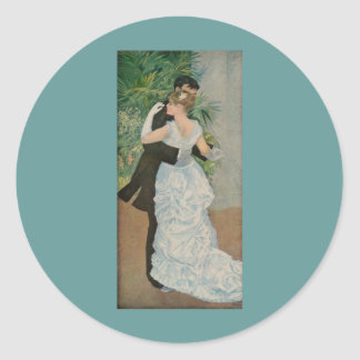 町(1883年)のピエール=オーギュスト・ルノワールのダンス ラウンドシール