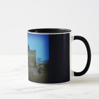 町Pyrmontのドイツの城の記念品 マグカップ