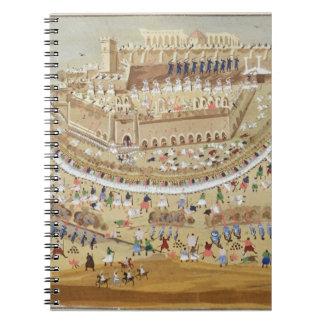 画像からの1827年にアテネの包囲、こんにちは ノートブック
