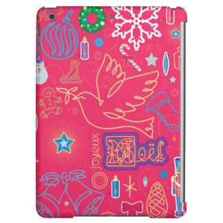 画像的なクリスマスの場合の精通した光沢のあるiPadの空気箱