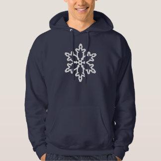 画像的なクリスマスの雪片 パーカ