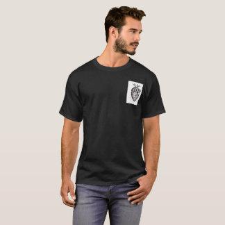 画像的なハートのTシャツ Tシャツ