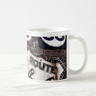 画像的なルート66 コーヒーマグカップ