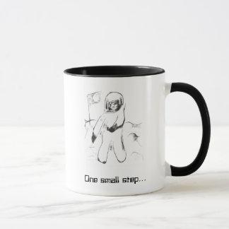 画像的な時-月面着陸 マグカップ