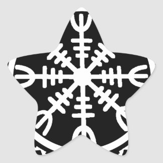 畏怖のバイキングの舵輪 星シール