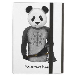 畏怖のパンダのバイキングの舵輪 iPad AIRケース