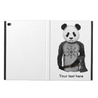 畏怖のパンダのバイキングの舵輪 POWIS iPad AIR 2 ケース