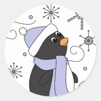 畏怖のペンギン ラウンドシール