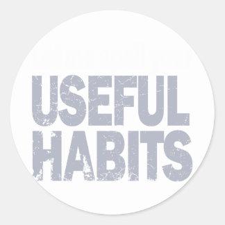 略奪品あなたの有用Habits.png ラウンドシール