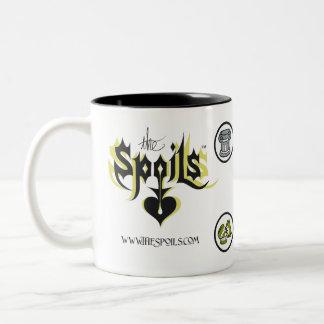 略奪品のロゴ ツートーンマグカップ