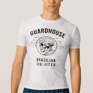 番所のブラジル人Jiu-Jitsu -解剖学 Tシャツ