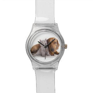 番犬および子ネコの友達 腕時計