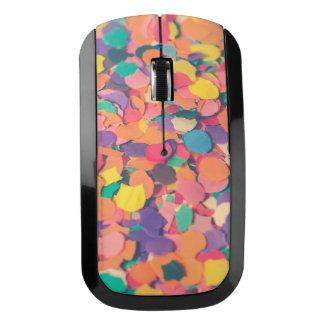 異なった多彩な形紙切れ ワイヤレスマウス