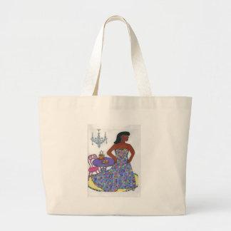 、異人種間民族、多文化 ラージトートバッグ