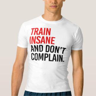 異常な列車は不平を言わないし、 Tシャツ