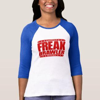 異常な喧嘩屋-打ち破られたことがなく超人的なストリート・ファイター Tシャツ